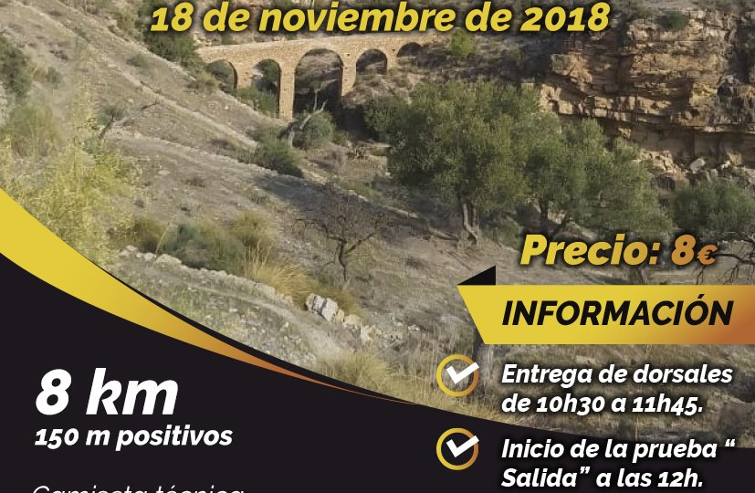 Cartel Carrera Popular Albanchez 2018