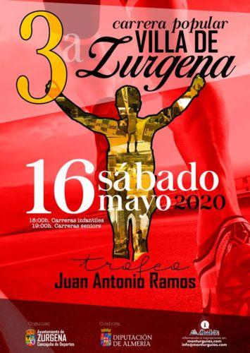 Cartel Carrera Zurgena 2020